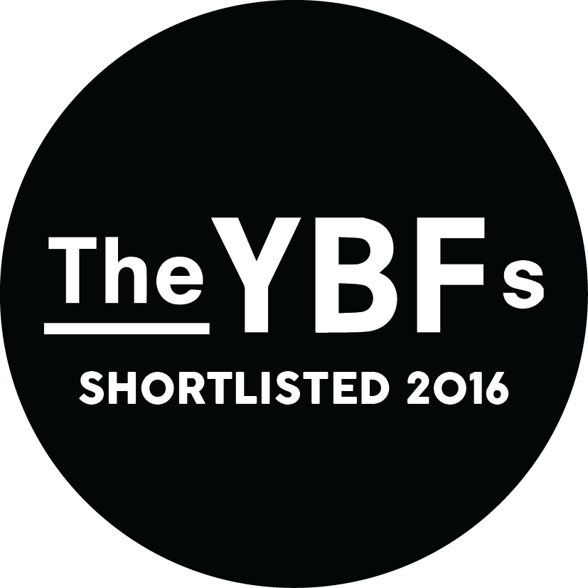 Shortlisted for the YBFs 2016